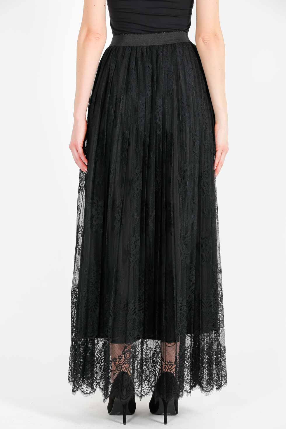 ELISA FANTI FW 2020/21 SERIE EFLace&Lace GONNA LUNGA IN PIZZO
