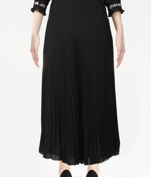 ELISA FANTI FW 2020/21 SERIE EFRomanticFlower GONNA LUNGA A  RUOTA IN GEORGETTE